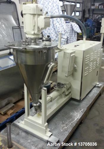"""Used- Fryma Model VE-1 Deaerator. Sanitary stainless steel construction, 12"""" diameter disc. Unit self contained with vacuum ..."""