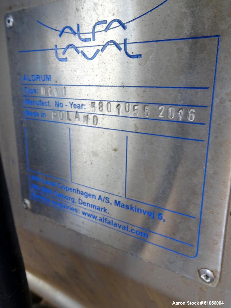 Used- Alfa Laval Sludge Thickener System