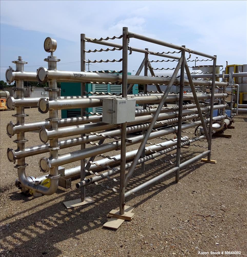 Used- APV Food Grade UF/RO Rack