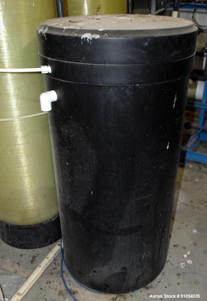 Used- Culligan G Series Dual Membrane Reverse Osmosis System. Consisting of: (2) Culligan Model C-300P-8 membrane pressure v...