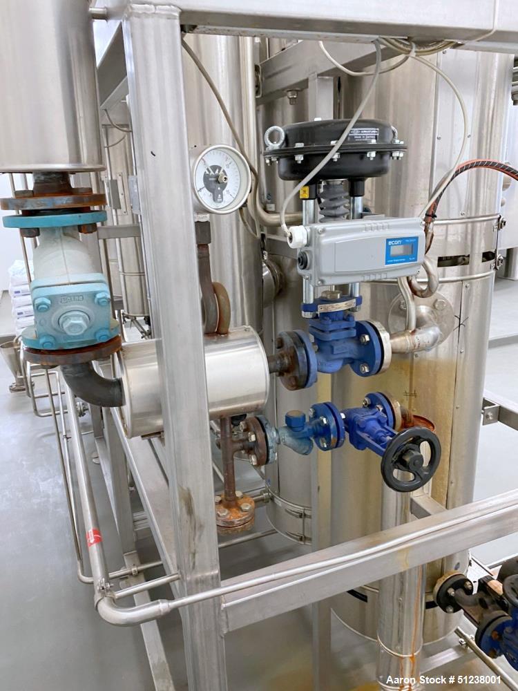 Used- Bosch PharmaTec, 6 Stage Multi Pressure Distillation Unit