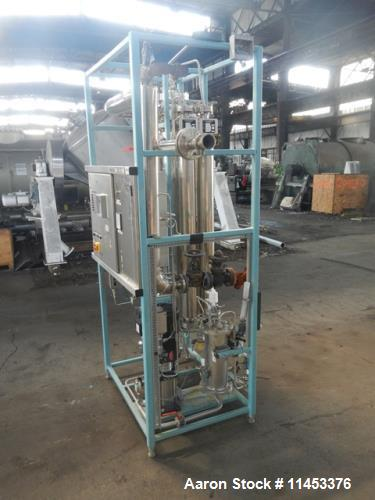Used- Finn Aqua Pure Steam Generator, Model 300S1, Stainless Steel Construction.