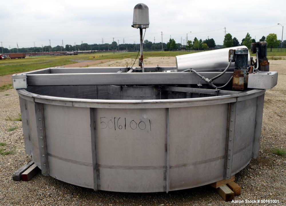 Used- Krofta Supracell Dissolved Air Flotation Clarifier, Model SPC-10 SRJ.