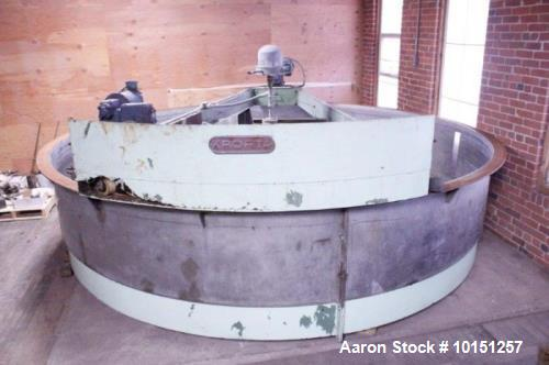 Used- 12' Diameter Krofta SP12 Stainless Steel Clarifier.