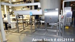 Used- Atlantium UV Skid consisting of (1) Heat Exchanger, (1) Ultraviolet Tube, (1) Micro-Motion Flow Meter, Control Panel w...