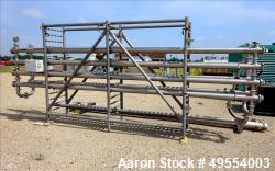Used- APV Food Grade UF/RO Rack, Stainless Steel.