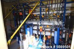 Used- Enaqua Containerized Reverse Osmosis System, Model 1 & 2 Pass Systems