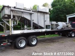 Used- Reid Engineering DAF (Dissolved Air Flotation) Complete System, Model OSS-100. Rated for 100,000 GPD, 5 to 7 days/week...