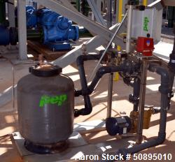 Used- PEP Sand Filter System, Model FS20SS