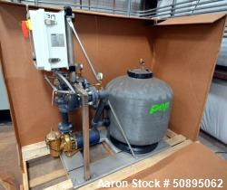 Used- PEP Sand Filter System, Model FS30ES