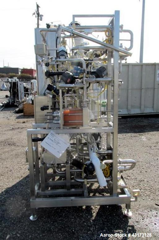 Used Millipore Ultra Filtration Skid Consisting O