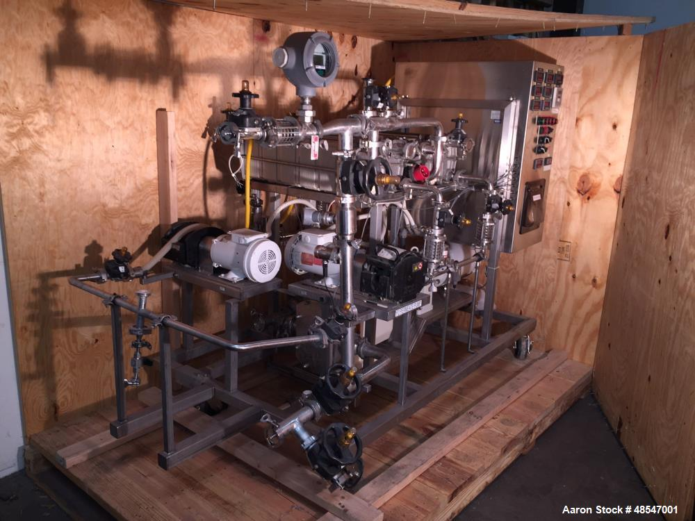 Used- Millipore 29751 Tangential Flow Filtration (TFF) System.