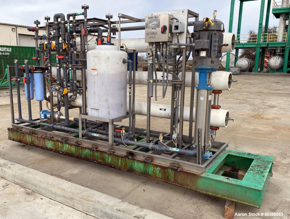 Used- Synder Filtration Reverse Osmosis System, Model PROX-809