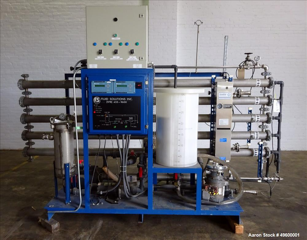 Used- Fluid Solutions Reverse Osmosis System