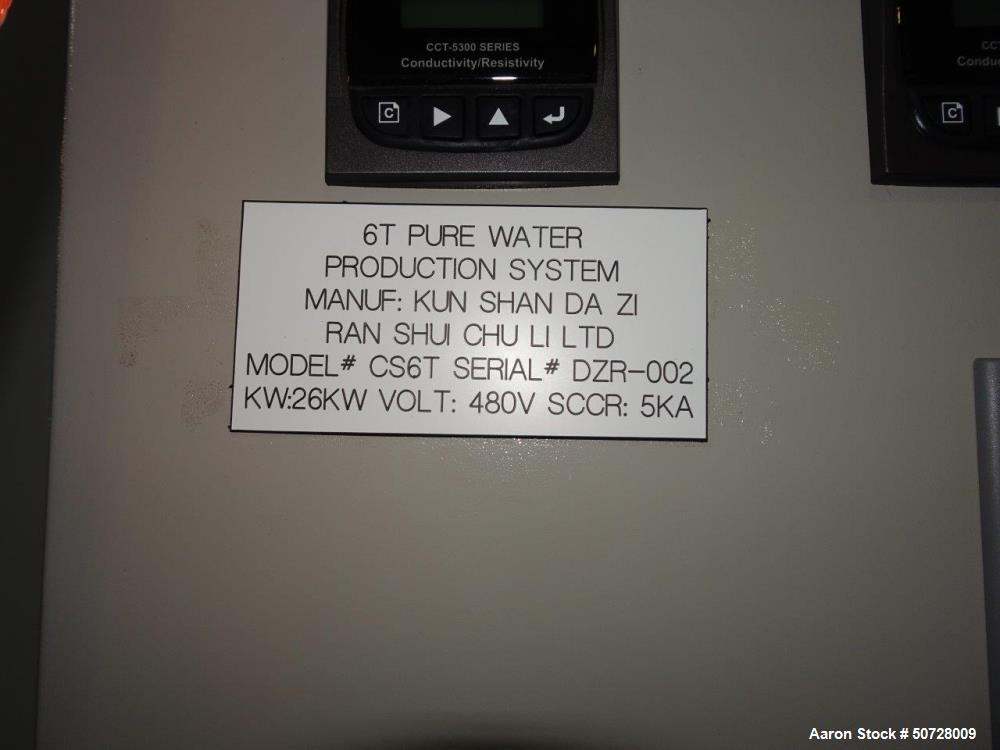 Used- Eworks Reverse Osmosis System